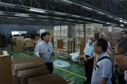 日系企業を視察訪問
